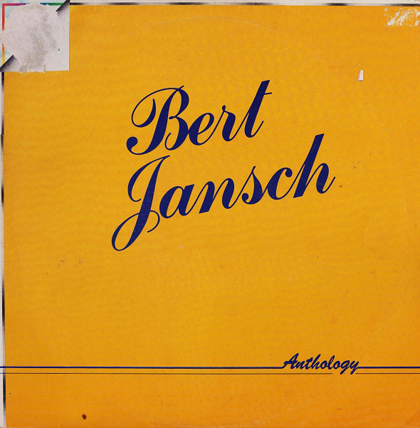 Bert Jansch | Records | Anthology cover