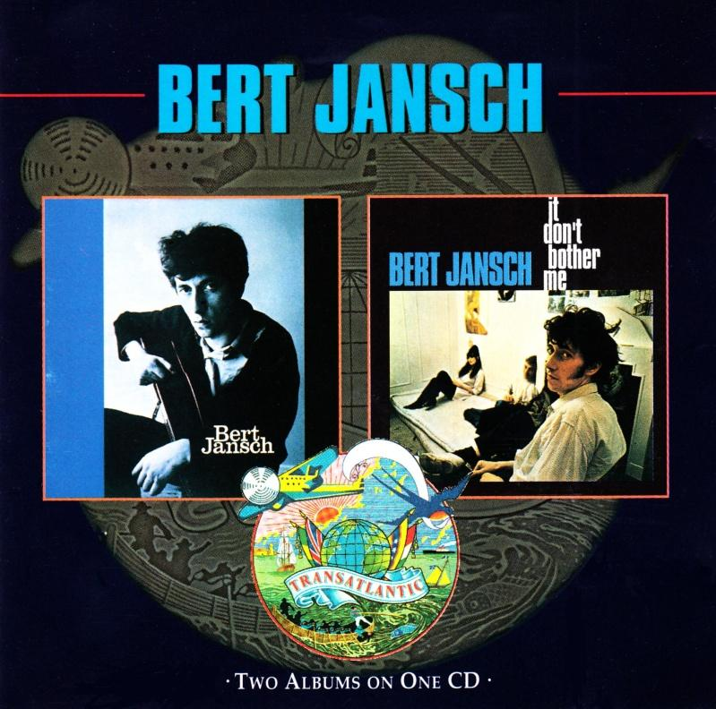 Bert Jansch | Records | Bert Jansch / It Don't Bother Me cover
