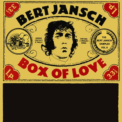 Bert Jansch | Records | Box of Love cover