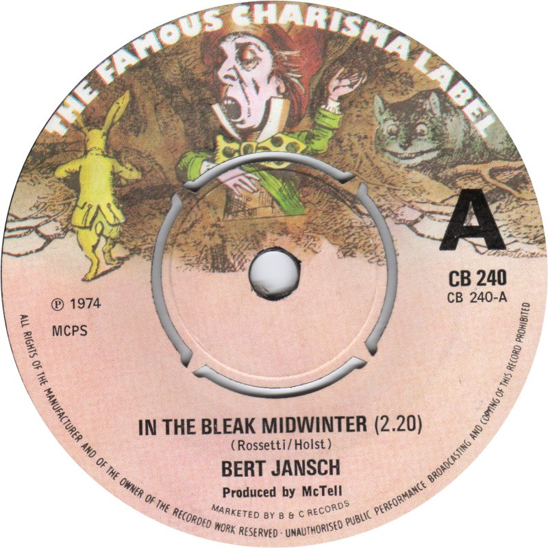 Bert Jansch | Records | In The Bleak Midwinter cover