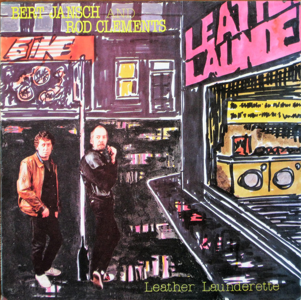 Bert Jansch | Records | Leather Launderette cover