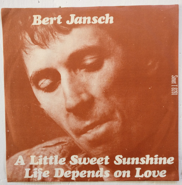 Bert Jansch | Records | Life Depends On Love cover