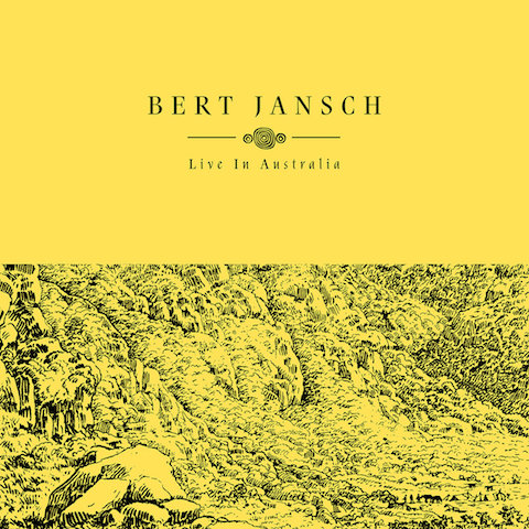 Bert Jansch | Records | Live In Australia cover