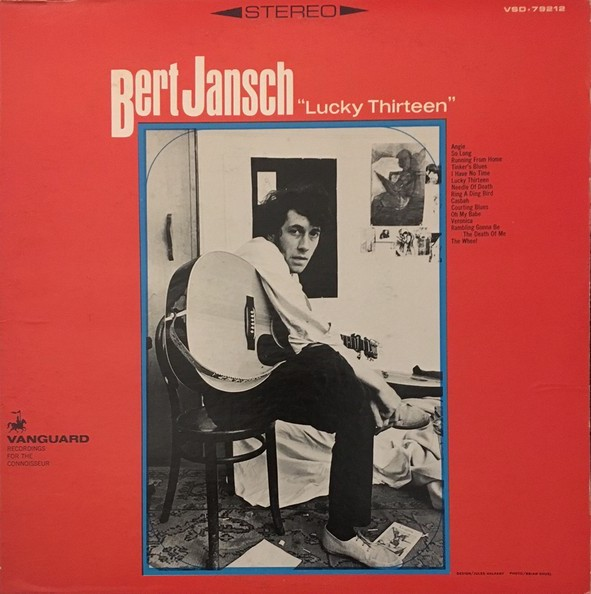 Bert Jansch | Records | Lucky Thirteen cover
