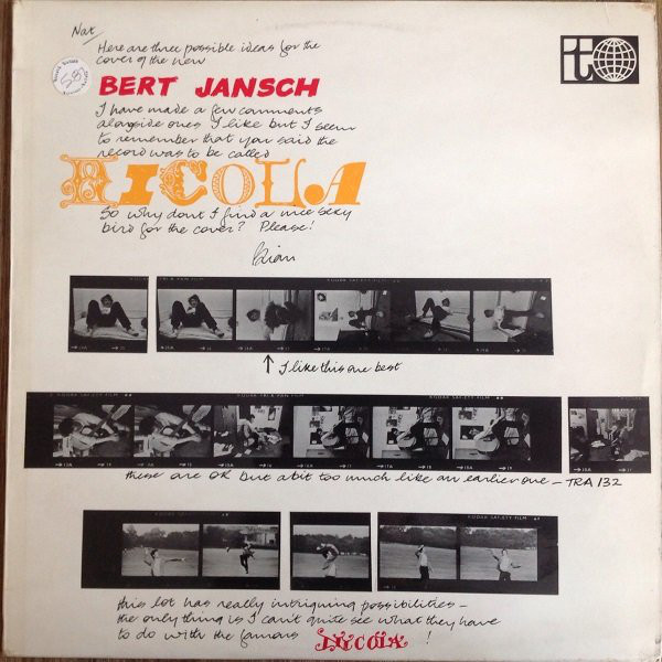 Bert Jansch | Records | Nicola cover