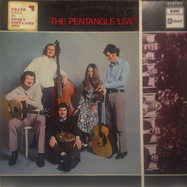 "Bert Jansch | Records | The Pentangle ""Live"" cover"